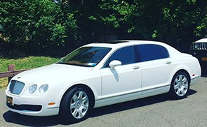 White Bentley