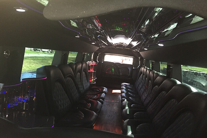 White Hummer Limo Hire in NY
