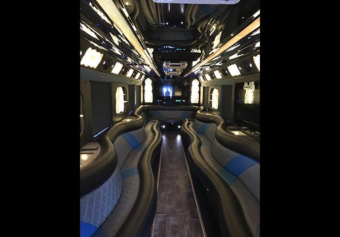 Luxury Party Bus