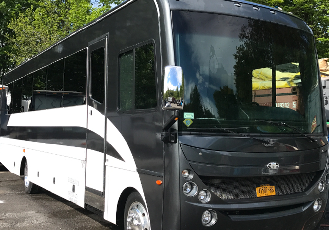 35 Passenger Party Bus for rent in NY